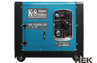Бензиновый генератор Könner&Söhnen KS 7500E SS