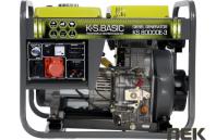 Дизельный генератор Könner&Söhnen KS 8000DE-3